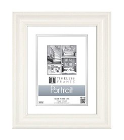 Timeless Frames® Lauren Portrait White Tabletop Frame