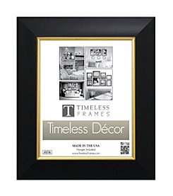 Timeless Frames® Jordan Black Gold Wall Frame