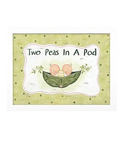 Timeless Frames® Two Peas In A Pod Framed Art