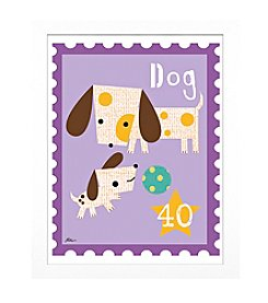 Timeless Frames® Dog Animal Stamp Framed Art