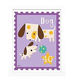 Timeless Frames® Dog Animal Stamp Framed Art