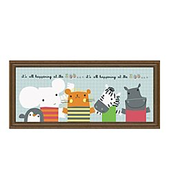 Timeless Frames® It's All Happening At The Zoo II Framed Art