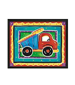 Timeless Frames® Dump Truck Framed Art