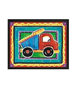 Timeless Frames® Dump Truck Framed Art