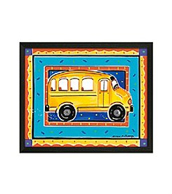 Timeless Frames® School Bus Framed Art