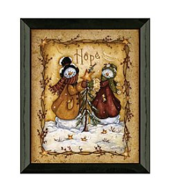 Timeless Frames® Snow Folk Hope Framed Art