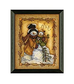 Timeless Frames® Snow Folk Love Framed Art