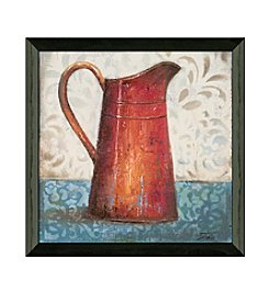 Timeless Frames® Red Pots II Framed Art
