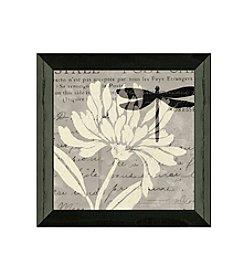 Timeless Frames® Natural Print I with Dragonfly Framed Art