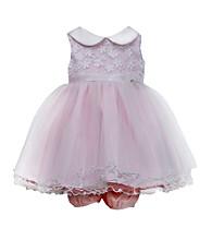 Bonnie Jean® Baby Girls' Pink Daisy Sequin Bonaz Dress
