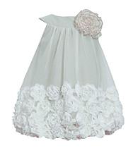 Bonnie Jean® Baby Girls' Sage Soutache Hem Bubble Dress