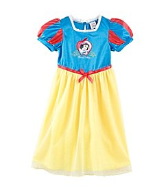 Disney Princess® Girls' 2T-8 Blue/Yellow Snow White Sleep Gown