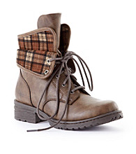 """b.ø.c """"Saturn"""" Ankle Boots - Brown"""
