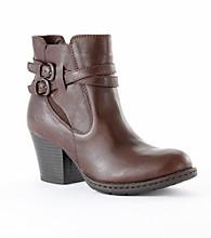 "b.ø.c ""Jaya"" High Heel Ankle Boots - Dark Brown"