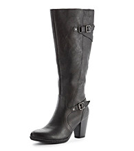 "b.ø.c ""Shelina"" Knee-High Dress Boots - Black"