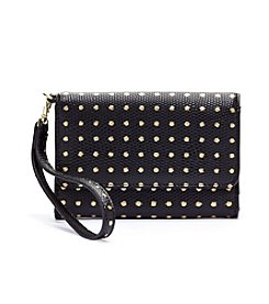 Relativity® Cell Phone Wristlet - Black Embellished