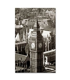 Trademark Fine Art Big Ben View II by Chris Bliss Canvas Art