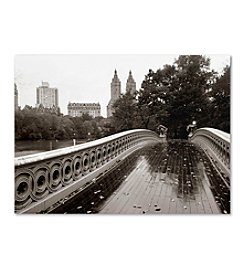 Trademark Fine Art Bow Bridge by Chris Bliss Canvas Art
