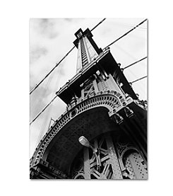 Trademark Fine Art Manhattan Bridge Detail by Chris Bliss Canvas Art