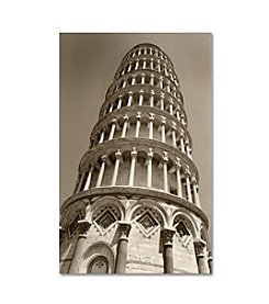 Trademark Fine Art Pisa Tower II by Chris Bliss Canvas Art