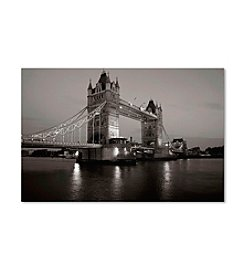 Trademark Fine Art Tower Bridge I by Chris Bliss Canvas Art