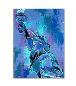 Trademark Fine Art Statue of Liberty II by Richard Wallich Canvas Art