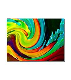 Trademark Fine Art Crashing Wave by Amy Vangsgard Canvas Art