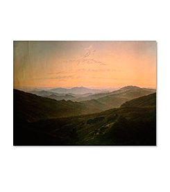 Trademark Fine Art Dawn by Caspar David Friedrich Canvas Art
