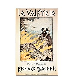 Trademark Fine Art Poster of the Valkyrie by Richard Wagner Canvas Art