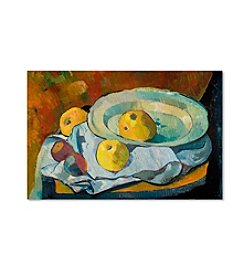 Plate of Apples by Paul Serusier Canvas Art