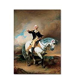 Trademark Fine Art Portrait of George Washington by John Faed Canvas Art