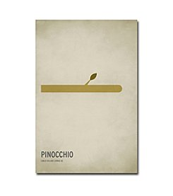 Trademark Fine Art Pinocchio by Christian Jackson Canvas Art