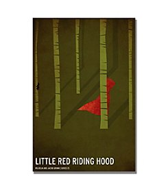Trademark Fine Art Red Riding Hood by Christian Jackson Canvas Art