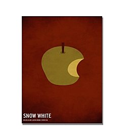 Trademark Fine Art Snow White by Christian Jackson Canvas Art