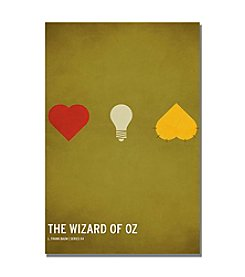 Trademark Fine Art The Wizard of Oz by Christian Jackson Canvas Art