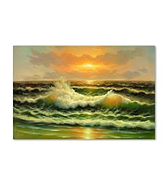 Trademark Fine Art Sunset Canvas Art