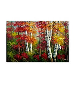 Trademark Fine Art Indian Summer Canvas Art