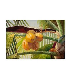 Trademark Fine Art Coconut Palm I Canvas Art