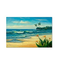 Trademark Fine Art Paradise Canvas Art