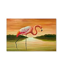 Trademark Fine Art Pink Flamingo Canvas Art
