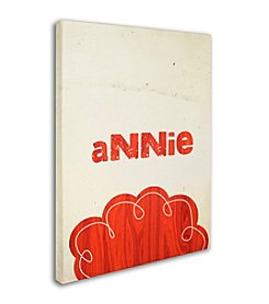 Trademark Fine Art Annie by Megan Romo Canvas Art