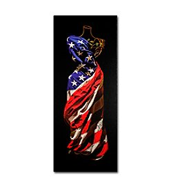 Trademark Fine Art American Dress by Roderick Stevens Canvas Art