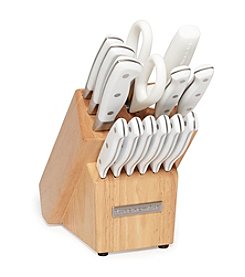 KItchenAid® 14-pc. Triple Rivet Handle White Cutlery Set