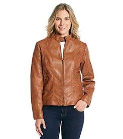 Giacca Zip Front Scuba Jacket