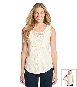 Nine West Vintage America Collection® Polly Lace Mix Tank