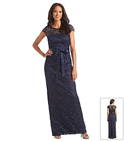 Adrianna Papell® Lace Long Formal Dress