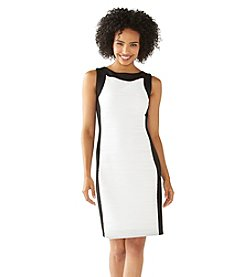 Calvin Klein Wavy Knit Sheath Dress