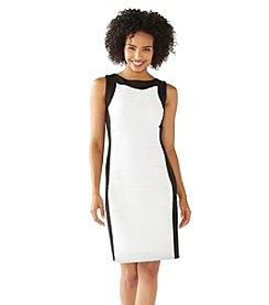 Calvin Klein Wavy Knit Sheath Dress