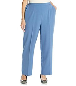Alfred Dunner® Plus Size Lake Como Pull On Solid Pant