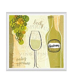 Greenleaf Art Vineyard Collection Chardonnay Framed Canvas Art